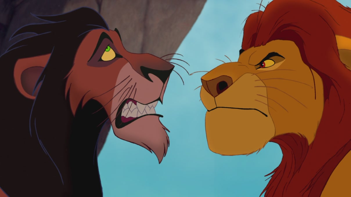 an analysis of the movie of lion king Now comes the lion king, with the death of mufasa, the father of the lion cub who will someday be king the disney animators know that cute little cartoon characters are not sufficient to manufacture dreams there have to be dark corners, frightening moments, and ancient archetypes like the crime of.