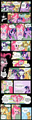 The Mane 6 Read Kek Cawan