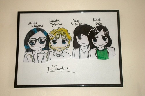 The Raconteurs - Chibi Style