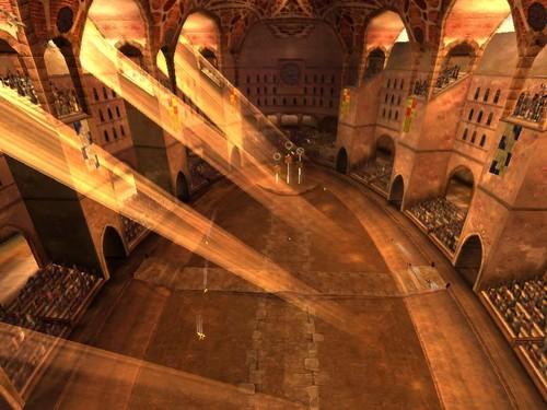 The Spanish Quidditch Stadium