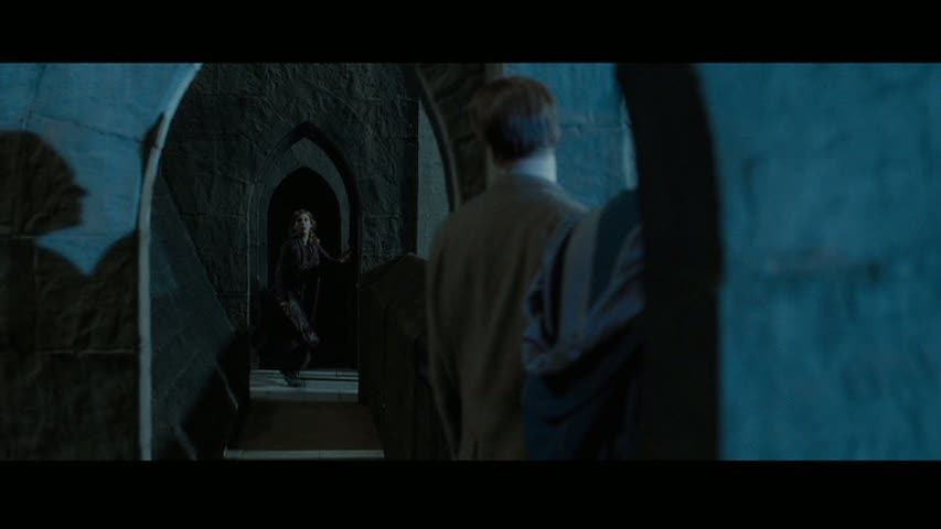 Tonks & Lupin in Deathly Hallows part 2 - Deleted Scene ...