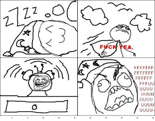 Troll alarm