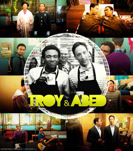 Troy and Abed ♥ - community Fan Art