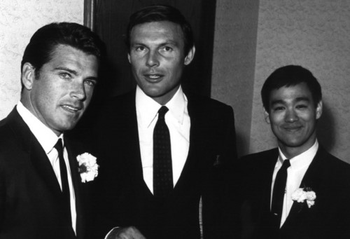 busje, van Williams,Adam West+Bruce Lee