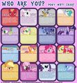 Which little pony are you? - my-little-pony-friendship-is-magic photo