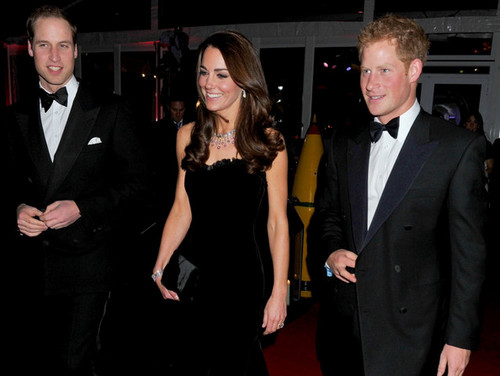 William and Catherine at the Sun's Military Awards - prince-william Photo