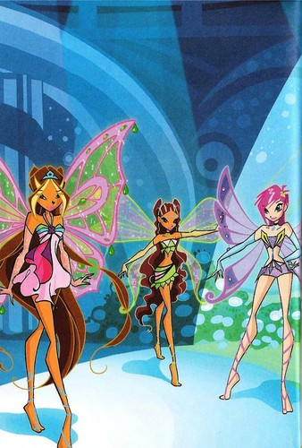 Winx Club Enchantix New Bilder