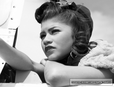 Zendaya's New Photoshoots