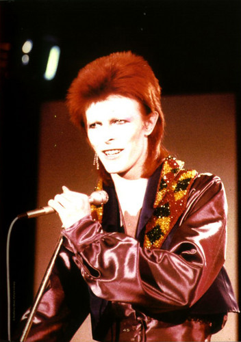 Ziggy Stardust wallpaper probably containing a concert entitled Ziggy