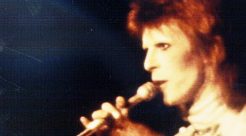 Ziggy Stardust wallpaper possibly with a concert and a flute titled Ziggy