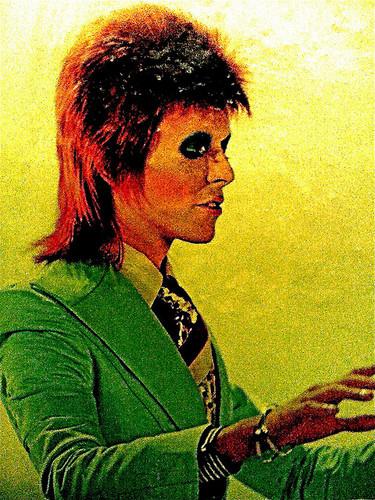 Ziggy Stardust wallpaper probably containing a sign and anime called Ziggy