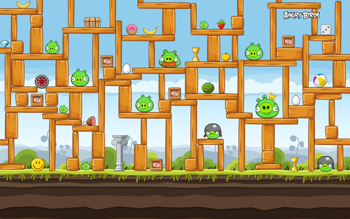 construction - angry-birds Wallpaper
