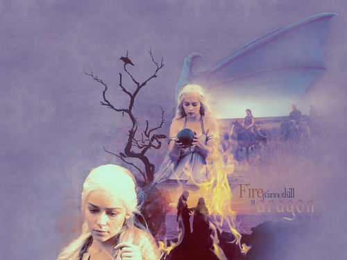 Daenerys Targaryen - game-of-thrones Wallpaper