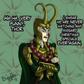 happy holidays - Loki