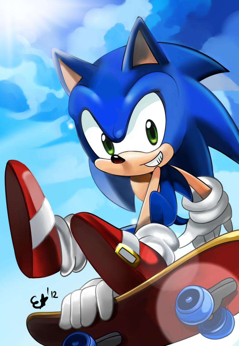 hop hop - Sonic the Hedgehog Fan Art (28282292) - Fanpop