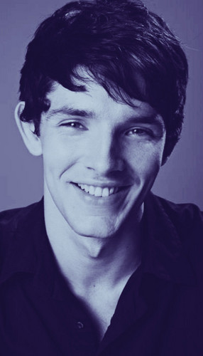 Colin Morgan wallpaper probably containing a portrait titled oh that smile...