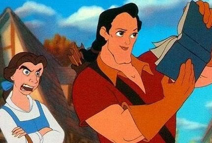 images of Disney characters with other faces