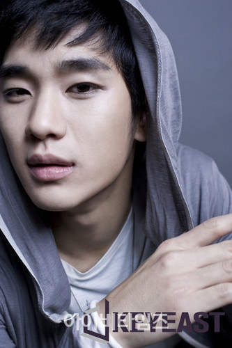 Kim SooHyun wallpaper containing a hood called kim soo hyun