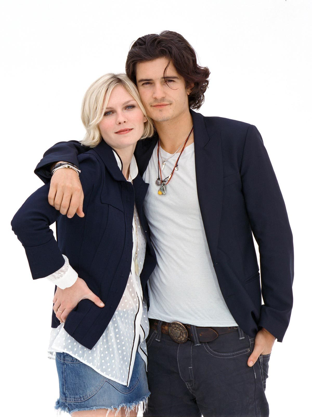 Kirsten Dunst and orlando bloom