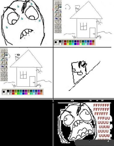 lol paint - rage-comics Photo
