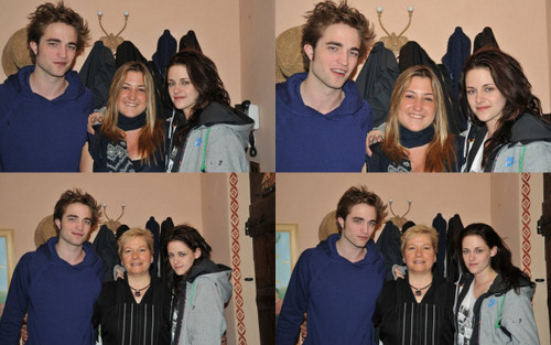 new/old Foto of Rob and Kristen