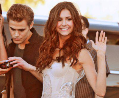 Paul Wesley wallpaper probably containing a portrait called paul and nina