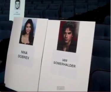 pca seating - ian-somerhalder-and-nina-dobrev