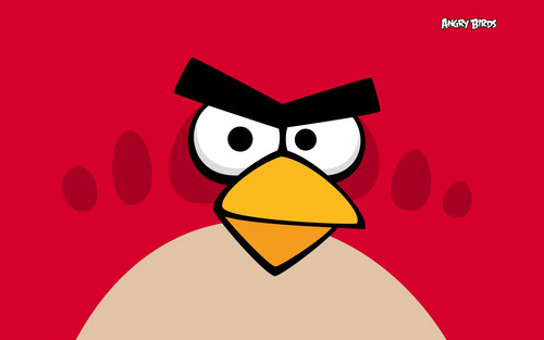 Angry Birds wallpaper entitled red