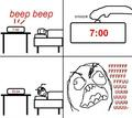 snooze - rage-comics photo
