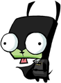 zim and gir (mostly gir)