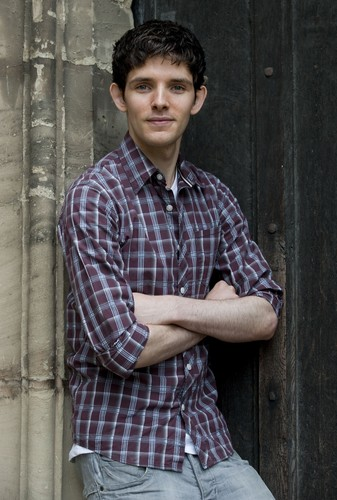 Colin Morgan wallpaper probably with a street titled <3