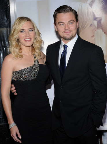 """Revolutionary Road"" World Premiere - kate-winslet-and-leonardo-dicaprio Photo"