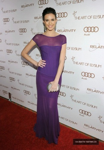 Odette Yustman images 2012 Art of Elysium Heaven Gala - January 14 wallpaper and background photos