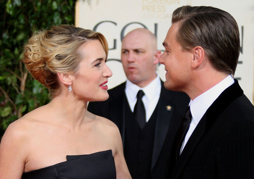 66th Annual Golden Globe  - kate-winslet-and-leonardo-dicaprio Photo