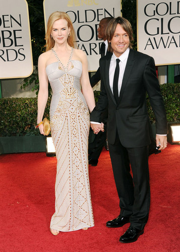 69th Annual Golden Globe Awards - Keith and Nicole