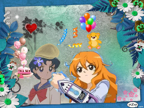 Bakugan and Sailor Moon! wallpaper probably with animê called Alice & Ami