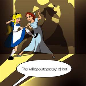 Alice and Wendy fight