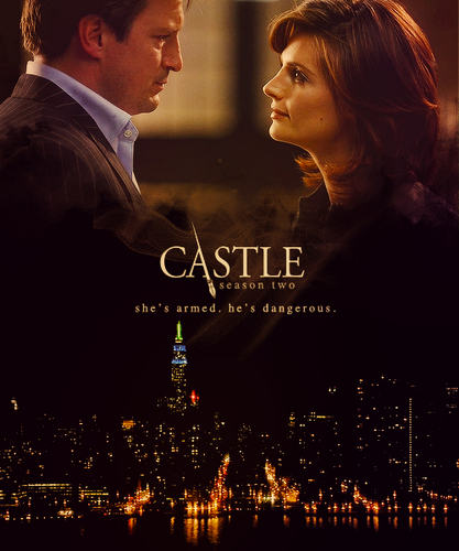 Alternative Castle posters | season 2 - castle-and-beckett Fan Art