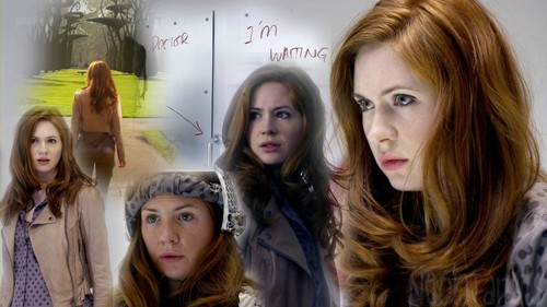 Amy Pond wolpeyper