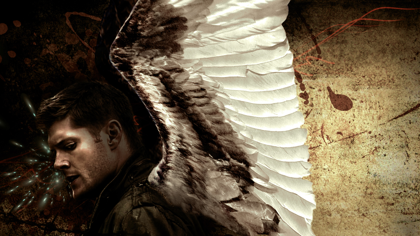 Dean - angel - LOVE ANGELS Wallpaper (30041930) - Fanpop |Supernatural Dean Angel