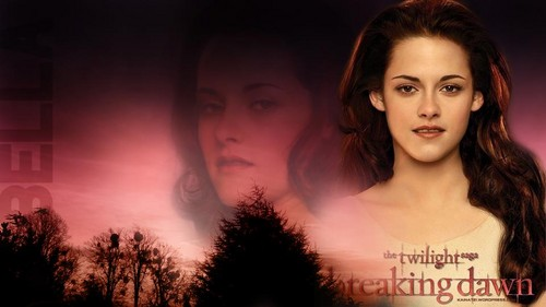 Beautiful wallpaper Fanmade Breaking Dawn 1