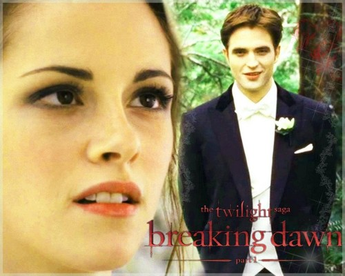 Beautiful Wallpapers Fanmade Breaking Dawn 1 - twilight-series Wallpaper