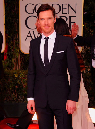 Benedict Cumberbatch at the 69th Annual Golden Globe Awards - benedict-cumberbatch Photo