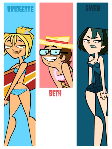 Bridgette, Beth and Gwen