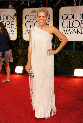 Busy Philipps - 69th Annual Golden Globe Awards/red carpet - (15.01.2012)