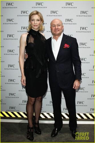 Cate Blanchett: IWC top, boven Gun Gala in Geneva!
