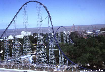 Cedar Point Roller Coaster - rollercoasters Photo