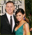 Channing Tatum & Jenna Dewan - Golden Globes 2012 Red Carpet - channing-tatum photo