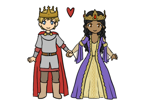 Chibi King and Queen