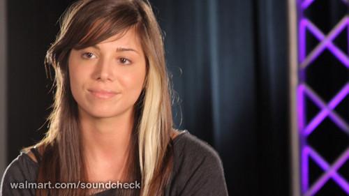 Christina Perri on Walmart Risers